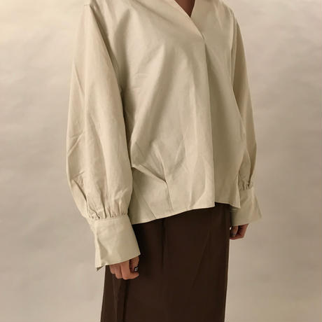 Over size blouse CREAM