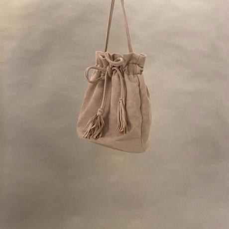 Draeestring Bag beige