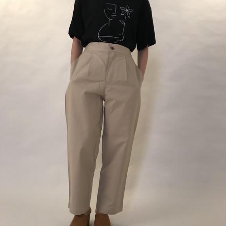 easy pants BEIGE