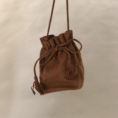 Draeestring Bag Brown