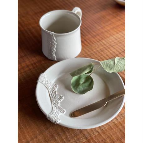 Crochet blanc マグカップ / NUIT 原田聡美