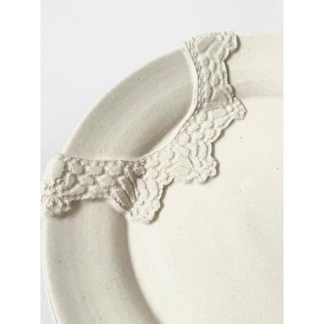 Crochet blanc プレート / NUIT 原田聡美
