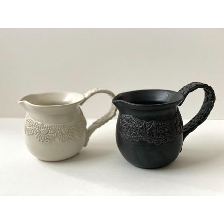 Crochet noir / blanc ピッチャー / NUIT 原田聡美