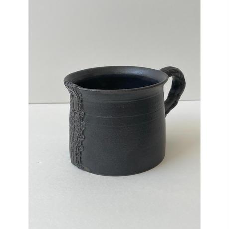 Crochet noir マグカップ / NUIT 原田聡美