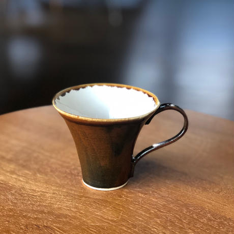 ucaco ceramicsさん/コーヒーカップ(丸・ストレート)