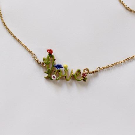 vintage d -14 love necklace