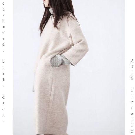 cashmere wool dress