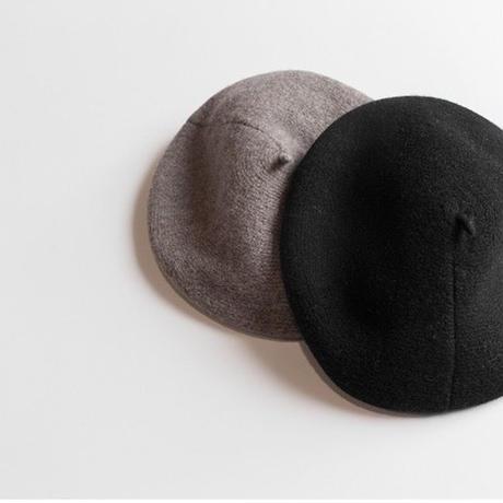 retro wool beret