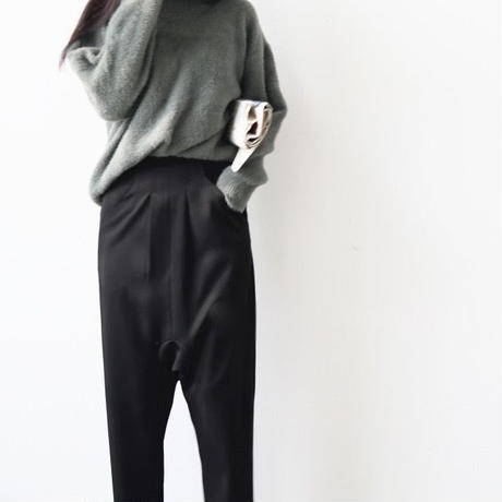 loose crotch collapse pants