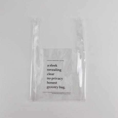 clear no privacy bag