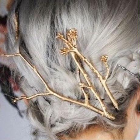 bough motif hairpin set