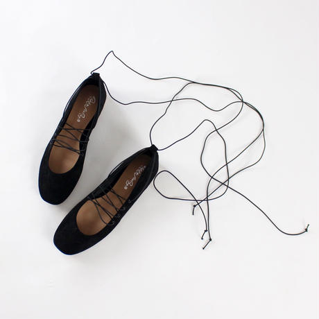 ballet strap suede shoes