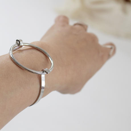 2colors-circular fashion bracelet
