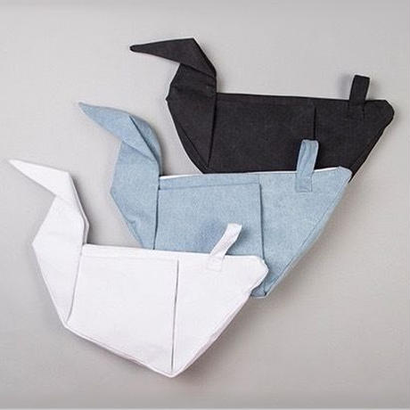 paper cranes canvas bag