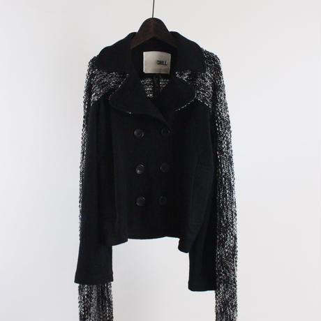 stole with double short jacket