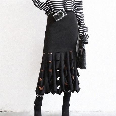 new fishtail stretch skirt