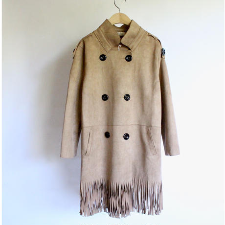 tassel double coat