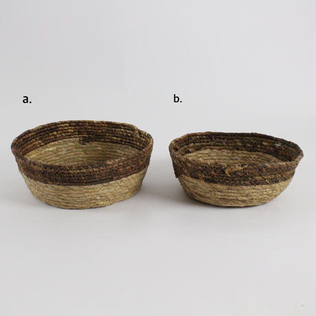 Natural storage basket(a.b set)