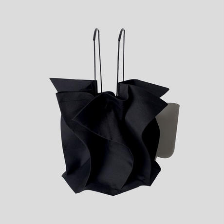 leaf hand-held bucket bag