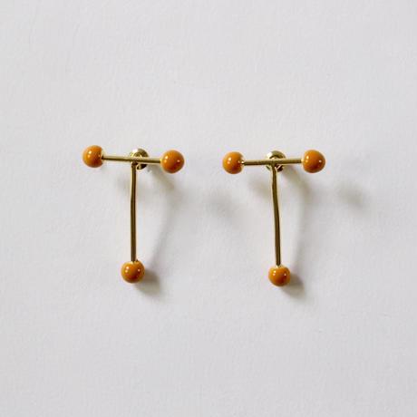 T - shape 925 earrings