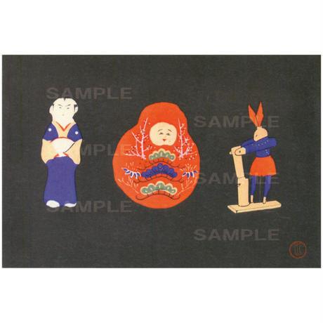 ポストカード 『おもちゃ絵諸国めぐり』石川(pl_4277)