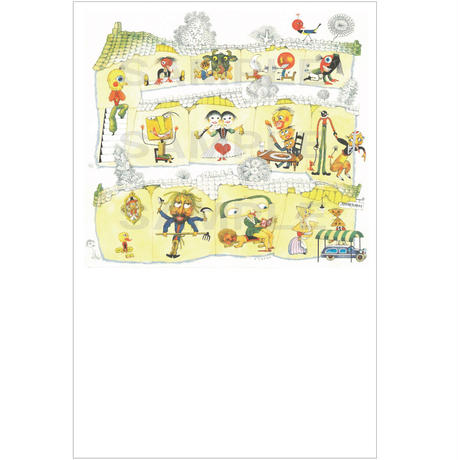 ポストカード こどものゆめカレンダー(pl_26024)