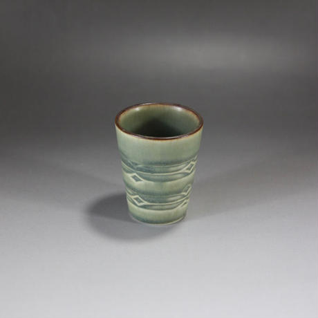 【ヴィンテージ】  デンマーク B&G(ビング・オー・グレンダール)社「Rune」(ルーン)エッグカップ I—151-08292017