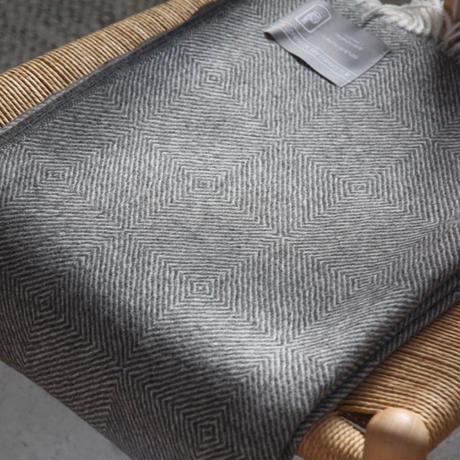 【新品】Baby Alpaca ベビーアルパカ 100% ブランケット デンマーク Danish Art Weaving社 ダイアモント alpaca_90_12252018