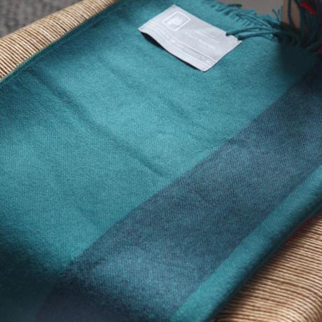 【新品】Baby Alpaca ベビーアルパカ 100% ブランケット デンマーク Danish Art Weaving社 グリーンalpaca_001_12252018