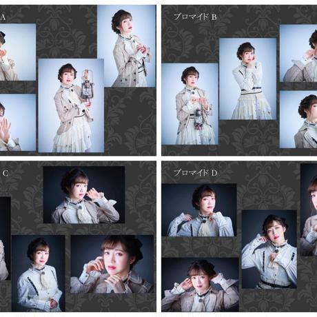「女王輪舞」個人ブロマイド(4枚セット)