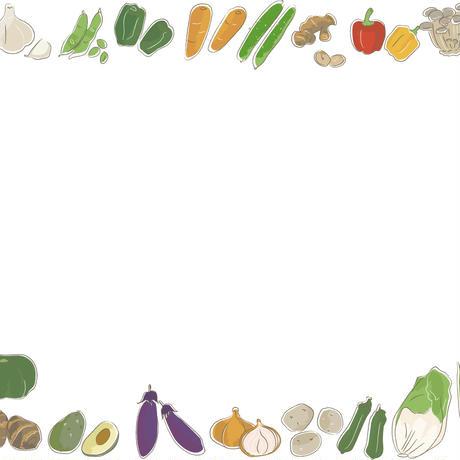 野菜 フレーム .epsデータ
