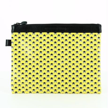 【STEPHANE VERDINO】HEXAGONE   POCHETTE-L    YELLOW
