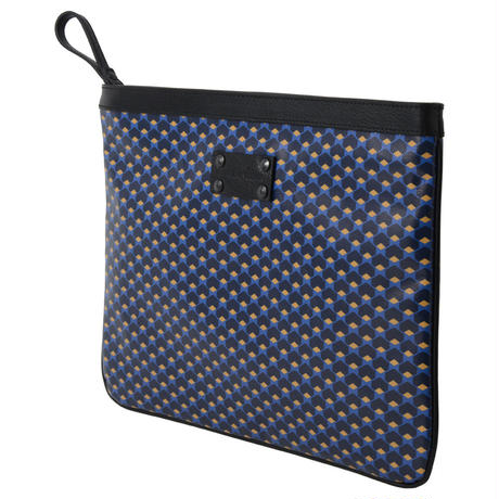 【STEPHANE VERDINO】HEXAGONE  MAXI POCHETTE  NAVY