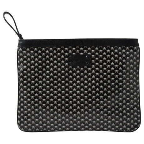 【STEPHANE VERDINO】HEXAGONE  MAXI POCHETTE  BLACK