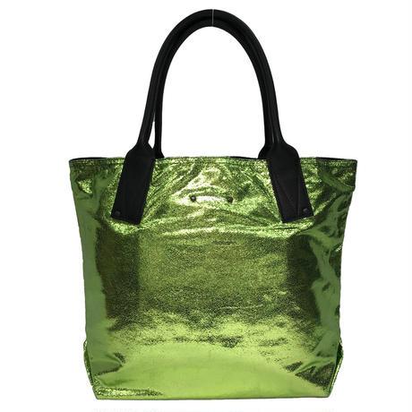 【VERDINO PARIS】ヴェルディーノ Light Cabas-M  Verde  トートバッグ M  ライムグリーン