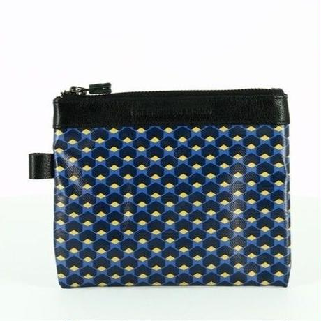 【STEPHANE VERDINO】HEXAGONE   POCHETTE-M    NAVY
