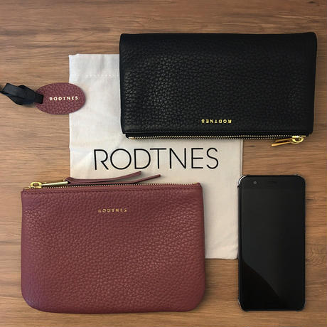 【RODTNES】ロドネス  Small Pouch Dusty rose クラッチバッグ、ポーチ