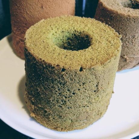 大台緑茶のミニシフォンケーキ
