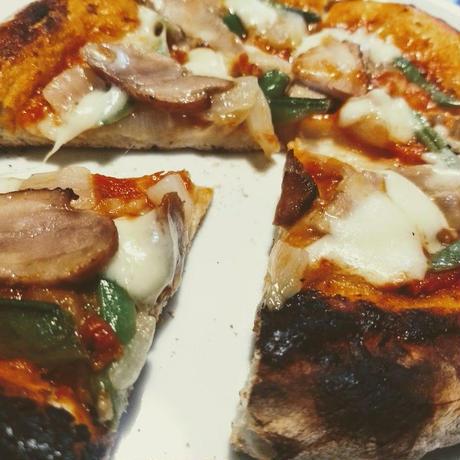 Pizza杉焼きチキン