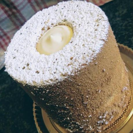 大台ほうじ茶のミニシフォンケーキ