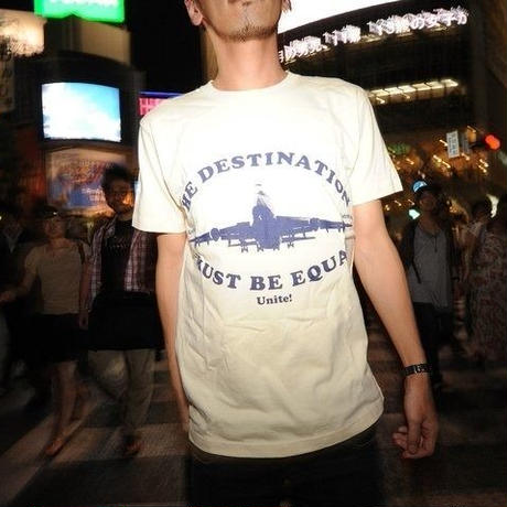 ■THE DESTINATION MUST BE EQUAL Tshirt