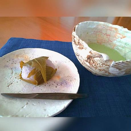 黒檀の菓子切り、平岡正弘、岩手