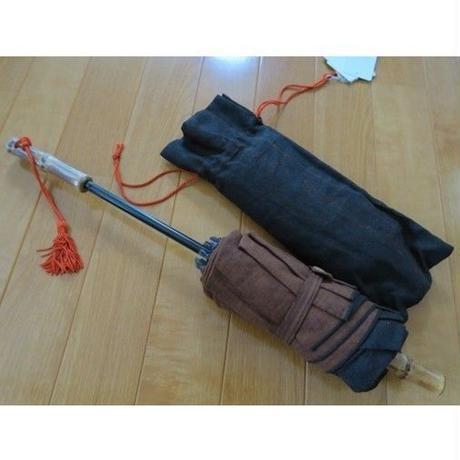 ツタエノヒガサ・うさぎのたすき(柿泥)折り畳み式