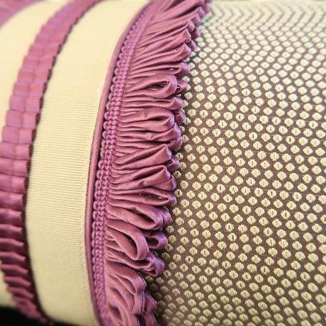 Bi's Original ミニクッション、紫③ ヌードクッション入り