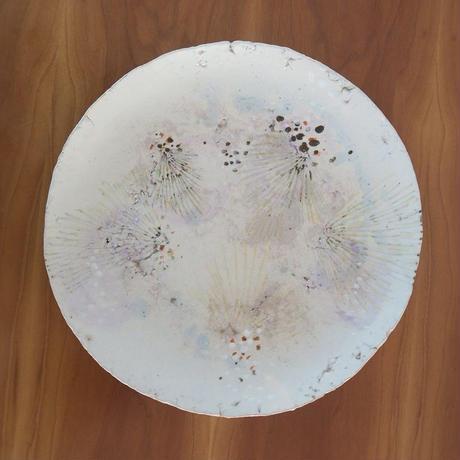七寸皿① 一点もの、神谷麻穂(高岡)