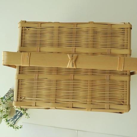 竹篭 2段大、受注品・別送品