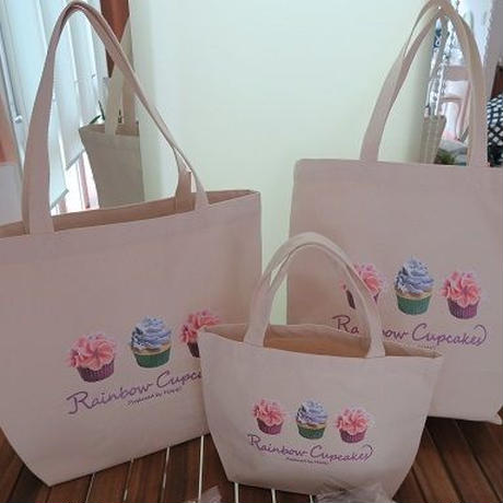 Bi's Japanese Gifts オリジナルランチバッグ、Rainbow Cupcakes produced by Maho