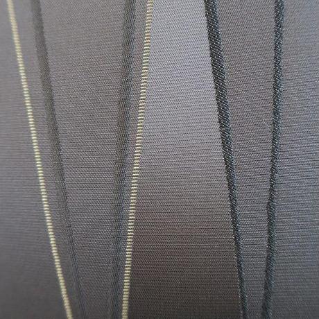 Bi's Japanese Giftsオリジナルの新作・金襴クッションカバー、「漆黒の雷神」ブラック