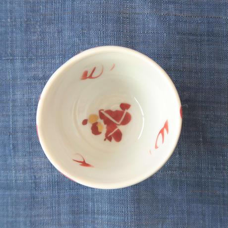 赤地健 ぐい吞み、九谷焼 赤地陶房 、金沢