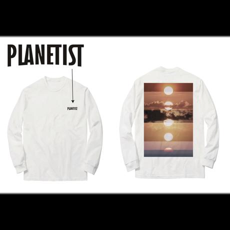 映画「PLANETIST」ロングTシャツ【THE SUNSET】